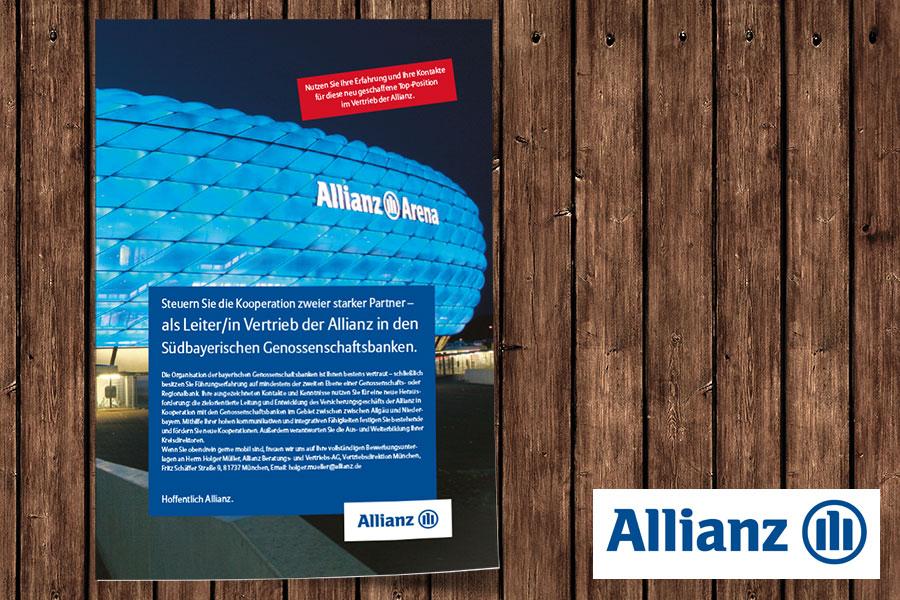 Allianz | Personalanzeige