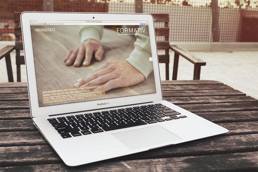 Tischlerei Formativ | Website