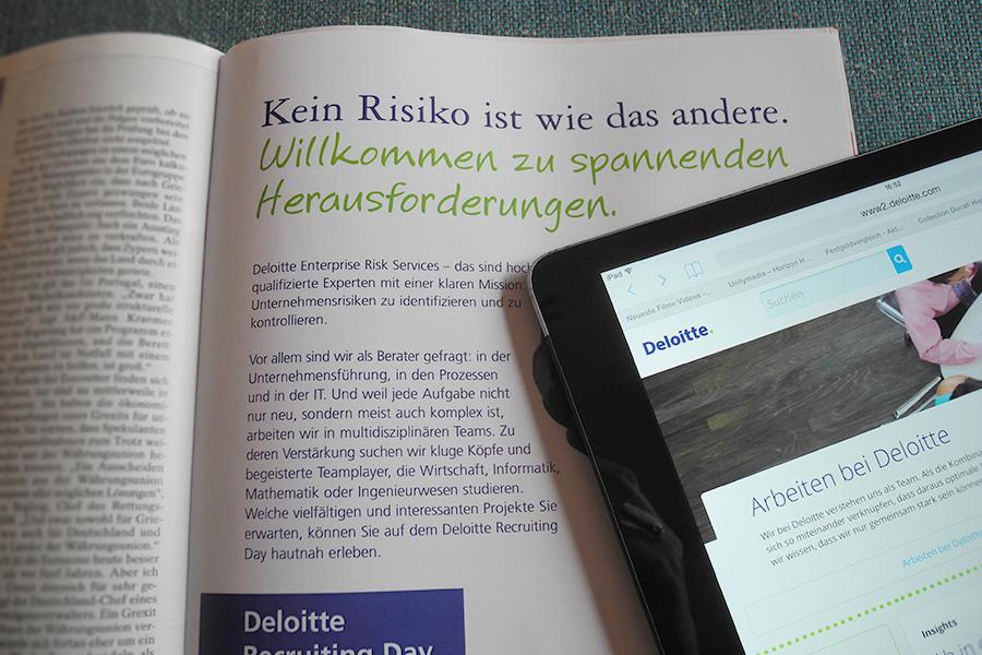 Deloitte | Personalimageanzeige