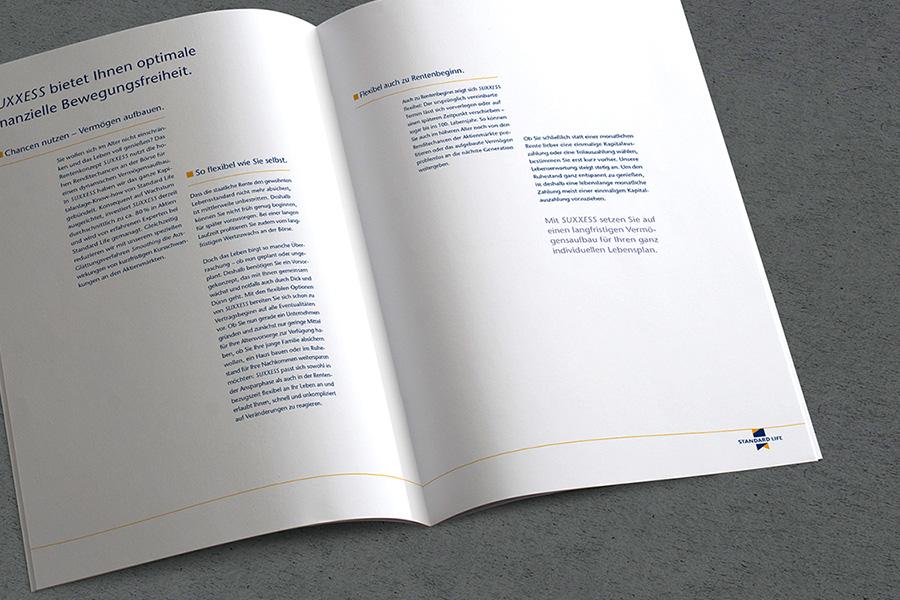 Standard Life Versicherung | Produktbroschüre
